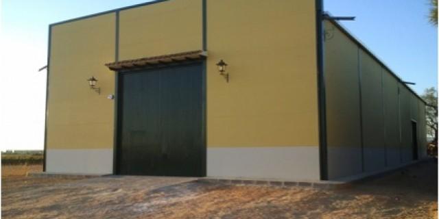 CONSTRUCCIÓN DE NAVE AGRÍCOLA